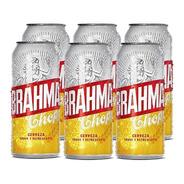 Brahma Chopp . Cerveza . 473ml X 6 - Tomate Algo® -
