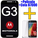 Tela Touch Display Lcd Frontal Moto G3 + Pelicula + Cola