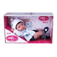 Boneca Bebê - Anny Doll - Baby Menino - Cotiplás