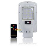 Refletor Luminária Pública Poste 30w Energia Solar C/ Sensor