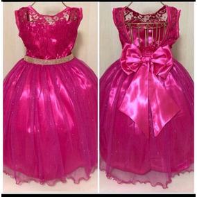 Vestido Infantil Festa Luxo Princesa Realeza