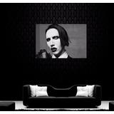 Cuadro Marilyn Manson Metal Industrial Black 60x90cm Envios!