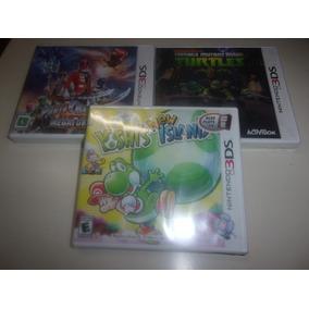 Lote 3 Jogos Nintendo 3ds/2ds Novos Usa