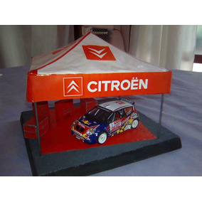 Diorama Carpa De Asistencia Stand Equipo Citroen Rally 1/43