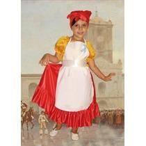 Disfraz Lavandera-mazamorrera-cocinera Local Belgrano R