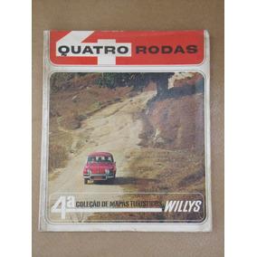 Revista Quatro Rodas 4ª Coleção De Mapas Turísticos Willys