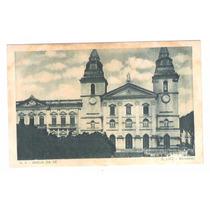 Sl03 Postal Antigo São Luiz Maranhão Igreja Da Sé.