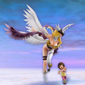 Angewomon E Yagami Hikari G.e.m Megahouse Digimon P-entrega!