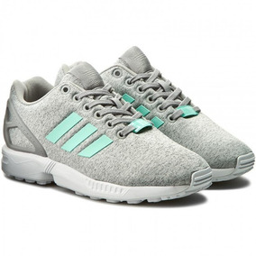 Adidas Originals Zx Flux Gris Mujer Bb2259 Look Trendy
