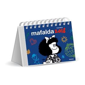 Calendario De Escritorio Mafalda 2018 Azul