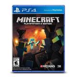 Minecraft Playstation 4 Edition, Nuevo Sellado Envio Gratis