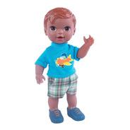 Boneco Babys Collection Dodoi Negro - Super Toys 367