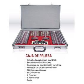 Caja De Prueba Metal Am-158 Para Optometria E20