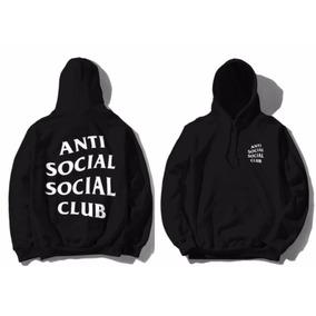 Sudadera Anti Social Solcial Club,envio Gratis,thrasher
