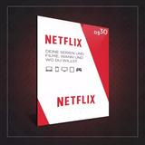 Cartao Pre Pago Netflix ** Promocao! ** Qualidade É Aqui!