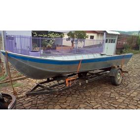 Barco 5 Metros Com Motor 15 Careta