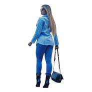 Calça Jeans Feminina Rasgada Cintura Alta Lycra Skinny Cj009