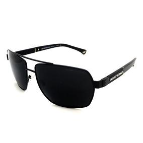 Oculos De Sol Masculino Ea3071 Armani Acetato Metal
