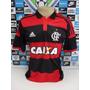 Flamengo 2014 Climacool M. Curta Tam. P Original Adidas Nova
