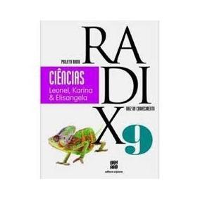 Livro Ciências Projeto Radix 9 Raiz Do Conhecimento