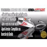 Tubo De Escape Completo Yoshimura Full System Crf 230 Honda