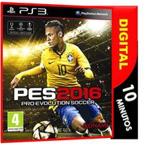 Pro Evolution Soccer 2016, Pes2016 Midia Digital Ps3 Psn