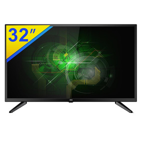 Tv Led 32 Aoc Hdtv Com Conversor Digital - Le32m1475