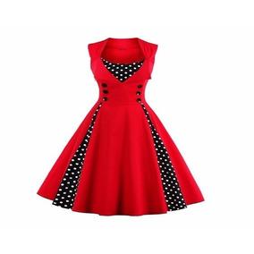 Vestido Infanto Juvenil Bolinhas Retrô Vintage Do 14 Ao Pp