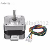 Motor Paso A Paso Nema 17 12v 0.4 Amp Cnc Impresora 3d