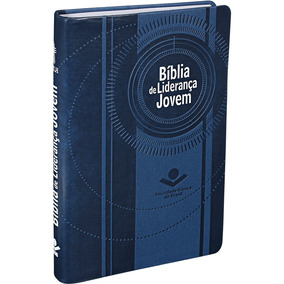 Bíblia De Liderança Jovem Capa Azul - Para Jovens E Líderes