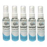Sanitizante Desinfectante Antibacterial Amonios Spray 5 Pzas