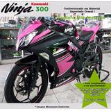 Adesivo Kawasaki Ninja300 Edição Limitada Pink Mat Importado