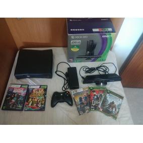 Xbox 360 Slim 250 Gb + Kinect + Desbloqueado