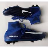 Chuteira Nike Mercurial Superfly V Fg Cano Alto Botinha Cr7