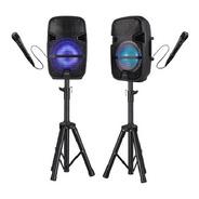Parlante De Karaoke Con Microfono (unidad) - Audiomobile