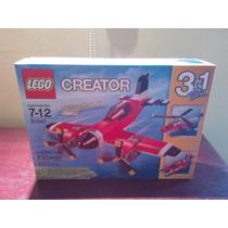 Lego Creator 3-1 Avion Doble Helice/helicoptero/lancha