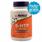 5 Htp 100mg (120 Cápsulas) Now Foods - Pronta Entrega