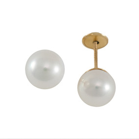 Broqueles Para Bebe Con Perla 18 K Br7220016pyadm Ghiberti