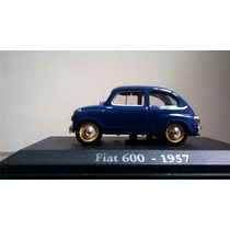 Fiat 600-1957 Escala 1/43- Coleccion Devoto Toys