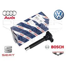 Bobina Ignição Audi A4 A3 1.8 2.0 Tfsi 0221604115 Bosch Nova
