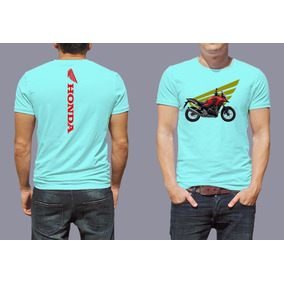 Camiseta Blusa Moto Honda Cb500