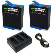 Kit 2 Baterías 1 Cargador Compatible Con Gopro Hero 9 Black