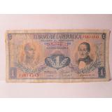 1 Un Peso Oro Colombia Agosto 7 De 1973