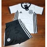 Conjunto Camiseta + Short- Seleccion Alemania / Niños