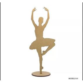 Bailarinas De Mdf 15 Cm