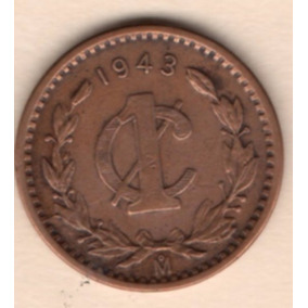 Moneda Antigua Segunda Guerra Mundial Un Centavo 1943 C12