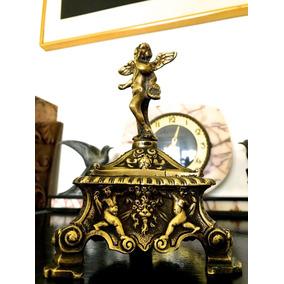Anfora Francesa Bronce Macizo Labrado Imperio Siglo Xix