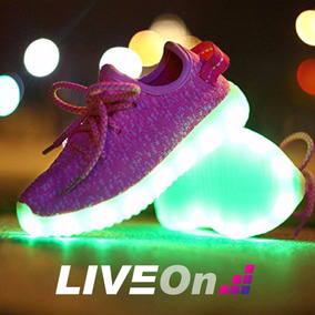 Tennis De Luces Led Liveon Colores Disponibles Envio Gratis