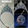 Tiara Coroa Da Elsa Frozen Em Pérola E Strass!