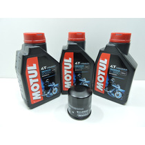Kit Troca Oleo/filtro Honda Cb 500 Carburada Motul3000 20w50